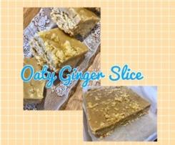 Oaty ginger crunch