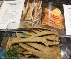 Seeded Crispy GF Crackers