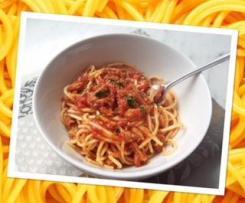 Curried tuna and pasta