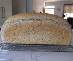 High Rise White Chia and Seeds Bread