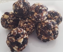 Jaffa Bliss Balls - with doterra Wild Orange Essential Oil