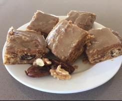 Caramel Date & Walnut Slice