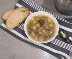 Thermofied by Nads - MN Lemony lentils and silverbeet soup (aka adas b hamid)