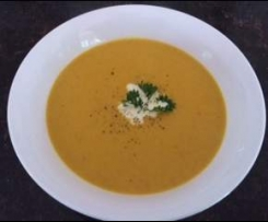 Spiced Pumpking & Coconut Soup by Julie Goodwin