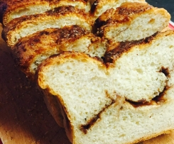 Cinnamon Buttermilk Bread (makes great French toast!)