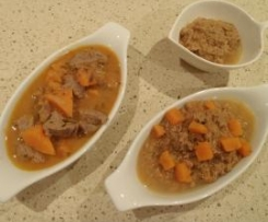 Sweet Potato and Lamb Casserole