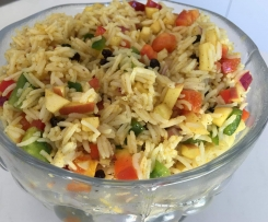 BBQ Favourite: Curried Rice Salad
