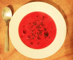 "Vegan Beetroot ""Eintopf"" with Ginger and Coconut milk"