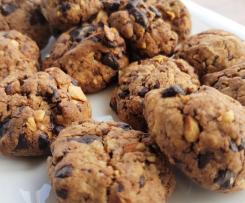 GF and DF Orange and chocolate nutty cookies