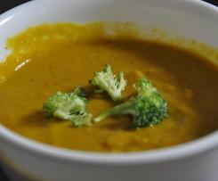 Anti-Cancer Broccoli & Sweet Potato Soup