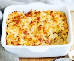 Truffled cauliflower mac n' cheese