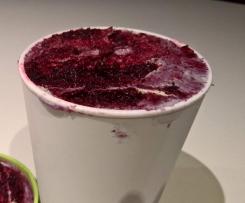Blueberry ice-cream