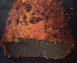 High Protein, Sugar Free Chocolate Cake