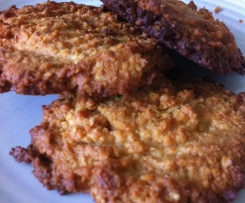 Paleo Macadamia and Quinoa Anzac Biscuits
