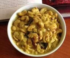 Sri Lankan cashew nut curry - inspired by Peter Kuruvita