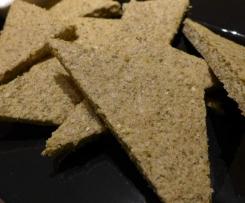 LCHF Pepita Flat Bread