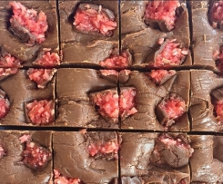 Cherry Ripe Fudge