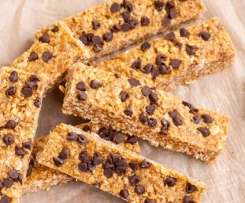 Choc chip muesli bars