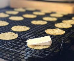 LCHF Parmesan Crackers