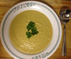 Jame Oliver's Chickpea and Leek Soup