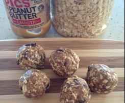 5 Ingredient Peanut Butter Energy Balls