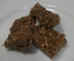 Choc - Coconut Slice