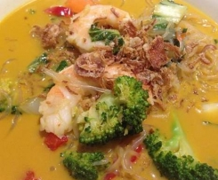 Thai Prawn and Vege Flu Fighting Soup