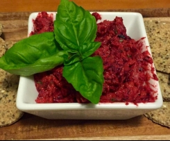 Sweet Potato & Beetroot Hommus
