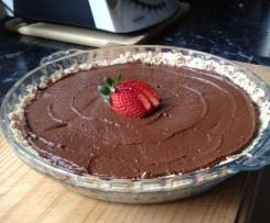 Raw Chocolate & Avocado Pie