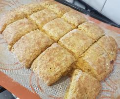 Kel's Healthy Quick Pumpkin Scones