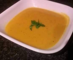 Pumpkin and Capsicum soup