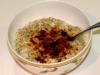 Banana, quinoa and chia porridge