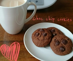 Mum's Choc Chip Cookies