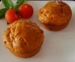 Mediterranean Roasted Vegetable Muffins