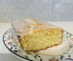 Petite Vegan Lemon Drizzle Cake