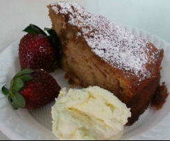 Morning After Coffee Cinnamon Syrup cake