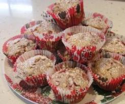 Raspberry & White Choc Muffins