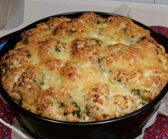 Cheesy Herb & Garlic pullapart