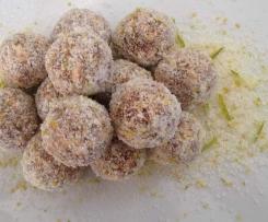 Zesty Lime & Lemon Balls (nut-free)