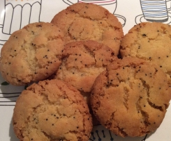 Melt in mouth Lemon & Poppyseed Biscuits