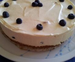 Gluten Free, Fructose Free Lemon Cheesecake