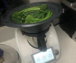 Steamed greens