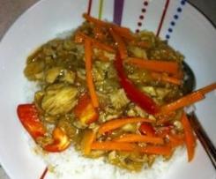 Muma Mutembos sweet & sour chicken   ( gluten free, dairy free, fructose friendley)