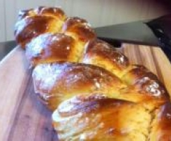 """Tranca"" Portuguese Braid sweet bread."