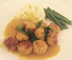 Meatballs - Danish (Frikadeller)