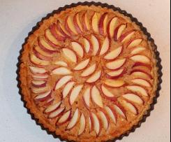 Nectarine & Blood Orange Frangipane Tart