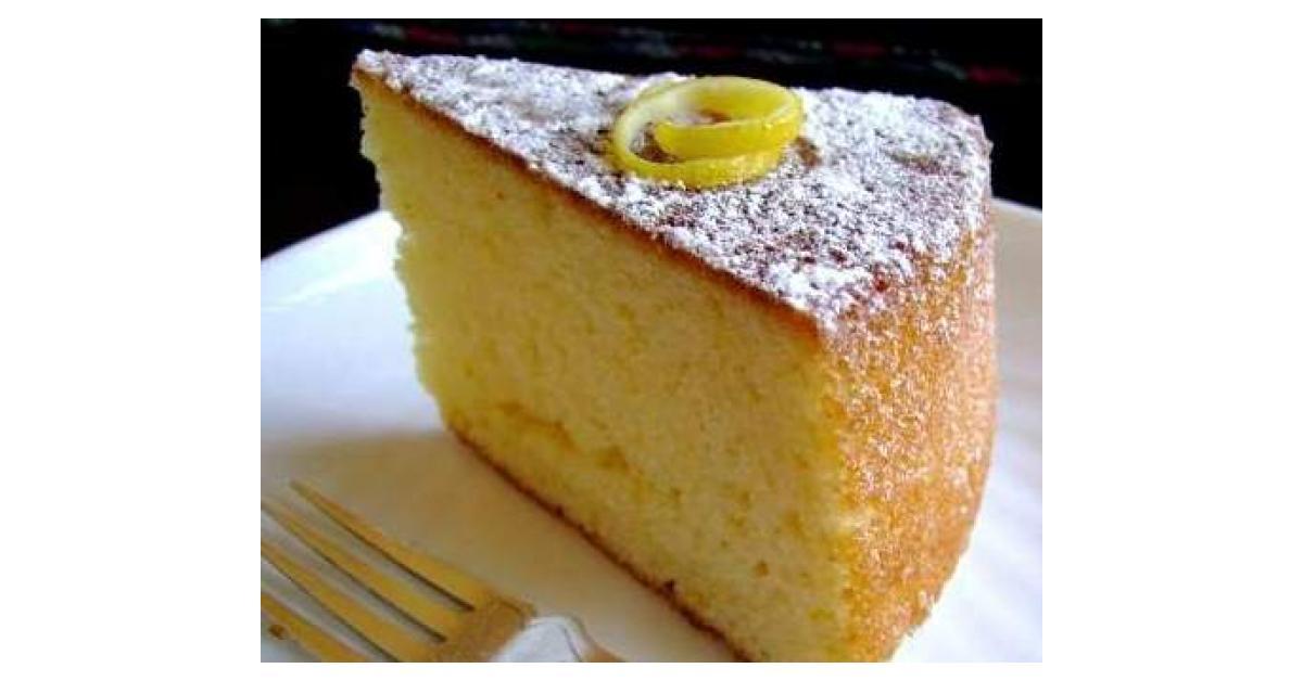 Lemon Yoghurt Cake Recipe Thermomix