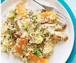 Ginger cashew chicken salad
