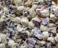 Christmas Red, White & Green Rocky Road