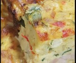 Easy Vegetable Slice